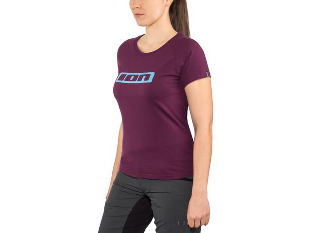 f83a66c3 ION Logo T-Skjorte Dame Rosa | Gode tilbud hos bikester.no